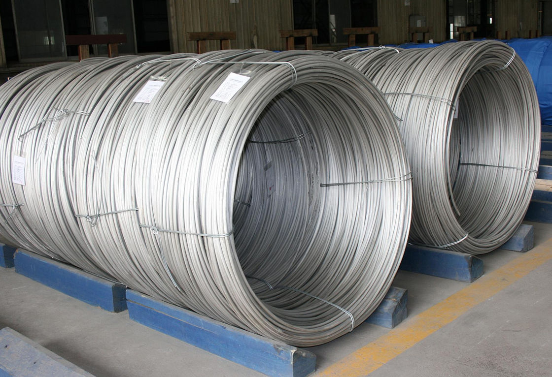 302CHQ 304HQ Stainless Steel Cold Heading Wire Customized Tensile Strength